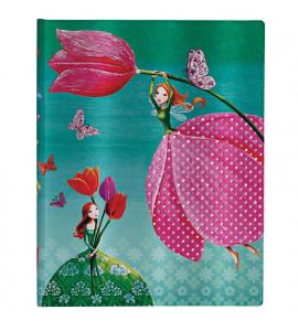 Paperblanks Joyous Springtime Pontilhado Capa Dura Ultra