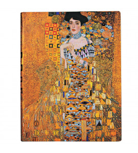 Paperblanks Klimt's Portrait of Adele Pautado Capa Dura Ultra
