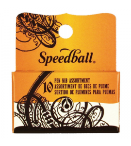 Kit de Caligrafia C/10 Penas Speedball 30710