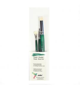 Kit de Pincéis Para Pastel Kolibri 218-03 C/03