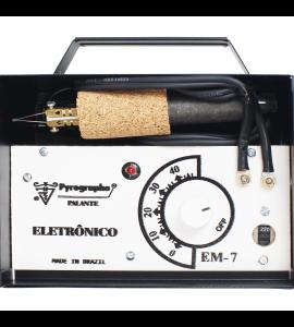 Pirógrafo Palante EM-7 40 Temperaturas