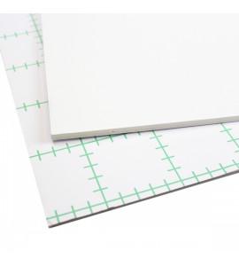 Papel Foamboard Com Adesivo 80X100cm Branco 5mm