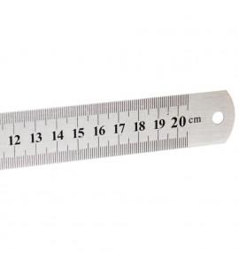 Régua de Aço 020 cm
