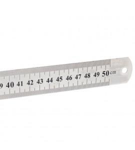 Régua de Aço 050 cm