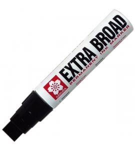 Caneta Permanente Extra Board 16mm Sakura Preto