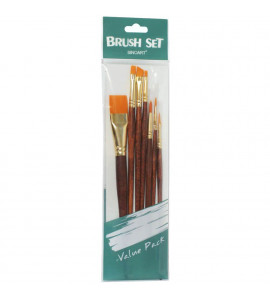 Kit de Pincel para Pintura Artística Sinoart C/7 SFB0275