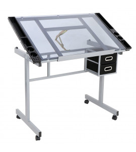 Mesa Para Desenho Glass Sinoart SFE0192