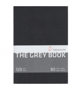 Bloco De Papel Para Desenho The Grey Book A5 Hahnemühle