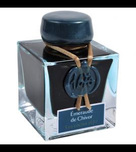 Tinta Para Caneta Tinteiro Herbin 1670 50ml Émeraude de Chivor