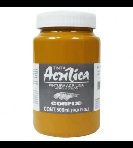 Tinta Acrílica Corfix 500ml 52 Amarelo Indiano