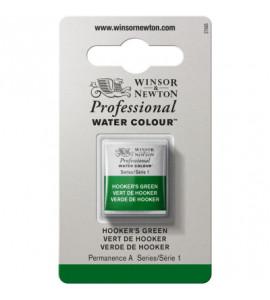 Tinta Aquarela Profissional Winsor & Newton Pastilha S1 311 Hooker's Green