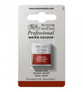 Tinta Aquarela Profissional Winsor & Newton Pastilha S1 317 Indian Red