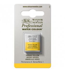 Tinta Aquarela Profissional Winsor & Newton Pastilha S1 319 Indian Yellow