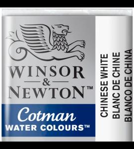 Tinta Aquarela Pastilha Cotman Winsor & Newton 150 Chinese White