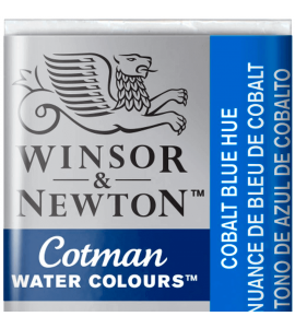 Tinta Aquarela Pastilha Cotman Winsor & Newton Cobalt Blue Hue 179