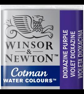Tinta Aquarela Pastilha Cotman Winsor & Newton Dioxazine Violet 231