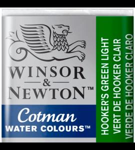 Tinta Aquarela Pastilha Cotman Winsor & Newton Hooker's Green Light 314