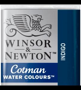 Tinta Aquarela Pastilha Cotman Winsor & Newton Indigo 322