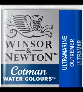Tinta Aquarela Pastilha Cotman Winsor & Newton Ultramarine 660