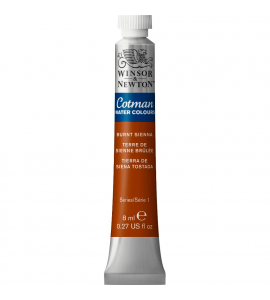 Tinta Aquarela Cotman Winsor & Newton 8ml Burnt Sienna 074