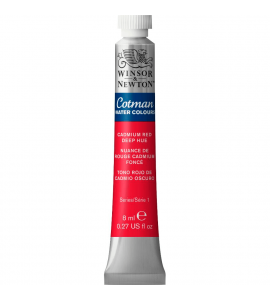 Tinta Aquarela Cotman Winsor & Newton 8ml Cadmium Red Deep Hue 098