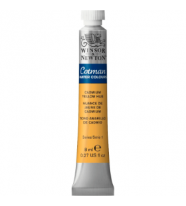 Tinta Aquarela Cotman Winsor & Newton 8ml Cadmium Yellow Hue 109