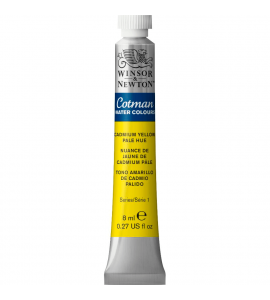 Tinta Aquarela Cotman Winsor & Newton 8ml Cadmium Yellow Pale Hue 119