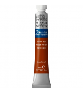Tinta Aquarela Cotman Winsor & Newton 8ml Indian Red 317