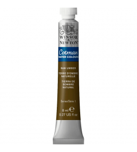 Tinta Aquarela Cotman Winsor & Newton 8ml Raw Umber 554