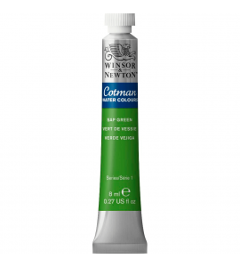 Tinta Aquarela Cotman Winsor & Newton 8ml Sap Green 599