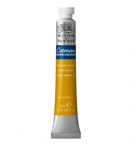 Tinta Aquarela Cotman Winsor & Newton 8ml Yellow Ochre 744
