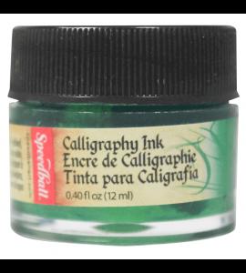 Tinta Para Caligrafia Speedball 12ml Verde Esmeralda 3103