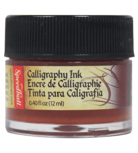 Tinta Para Caligrafia Speedball 12ml Terra Siena 3104