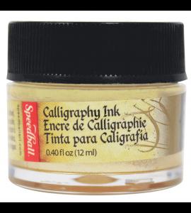 Tinta Para Caligrafia Speedball 12ml Ouro Metálico 3105