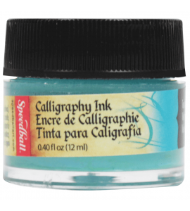 Tinta Para Caligrafia Speedball 12ml Verde Azulado 3106