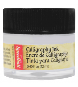 Tinta Para Caligrafia Speedball 12ml Branco 3110