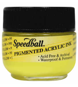 Tinta Para Caligrafia Speedball 12ml Amarelo Primário 3111