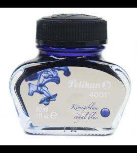 Tinta Para Caneta Tinteiro 4001 Pelikan 30ml Azul Royal