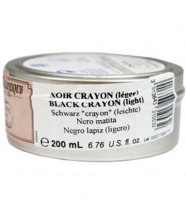 Tinta Para Litogravura Charbonnel Black Crayon 200ml