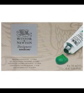 Tinta Guache Winsor & Newton Designers 06 Cores