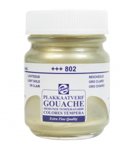 Tinta Guache Talens 50ml 802 Light Gold
