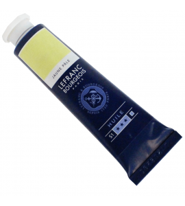 Tinta Óleo Fine Lefranc & Bourgeois 40ml 239 Pale Yellow