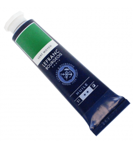 Tinta Óleo Fine Lefranc & Bourgeois 40ml 561 Medium Green