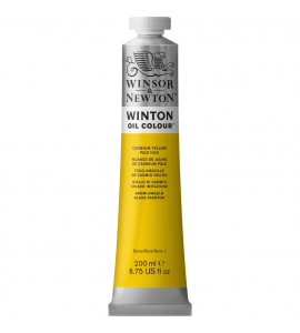 Tinta Óleo Winsor & Newton Cadmium Yellow Pale Hue Winton