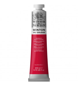 Tinta Óleo Winsor & Newton 468 Permanent Alizarin Crimson 200ml Winton