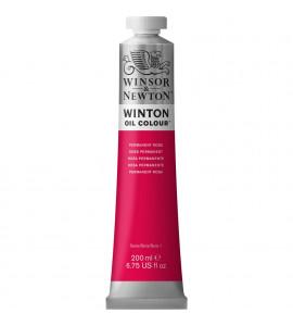Tinta Óleo Winsor & Newton 502 Permanent Rose 200ml Winton