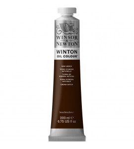 Tinta Óleo Winsor & Newton 554 Raw Umber 200ml Winton