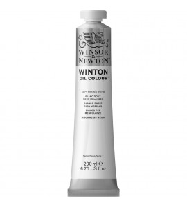 Tinta Óleo Winsor & Newton 415 Mix White 200ml Winton