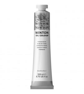 Tinta Óleo Winsor & Newton 644 Titanium White 200ml Winton