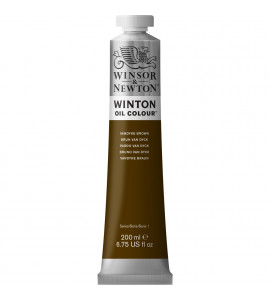 Tinta Óleo Winsor & Newton 676 Vandyke Brown 200ml Winton